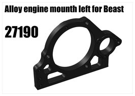 Alloy engine mounth left for Beast