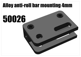 Alloy anti-roll bar mounting 4mm