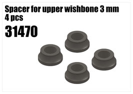 Spacer for upper wishbone 3 mm 4 pcs