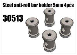 Steel anti-roll bar holder 5mm 4pcs