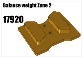 Balance weight Zone 2