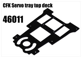 CFK Servo tray top deck