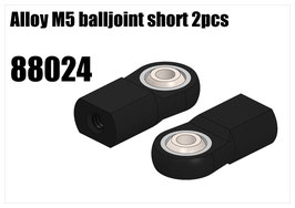Alloy M5 balljoint short 2pcs