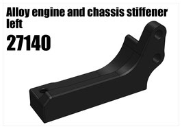 Alloy engine and chassis stiffener left