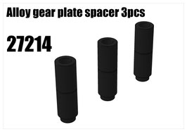 Alloy gear plate spacer 3pcs