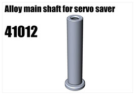 Alloy main shaft for servo saver