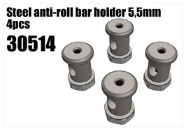 Steel anti-roll bar holder 5,5mm 4pcs