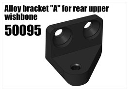"Alloy bracket ""A"" for rear upper wishbone"