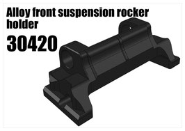 Alloy front suspension rocker holder