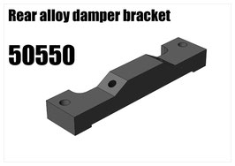 Alloy rear damper bracket