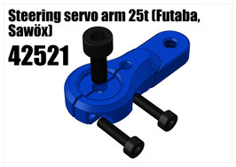 Alloy Throtle/brake servo arm 24t (Hitec)