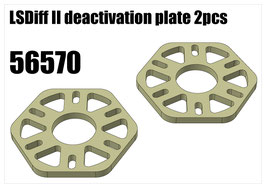 LSDiff II deactivation plate 2pcs
