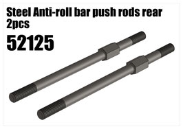 Steel Anti-roll bar push rods rear 2pcs