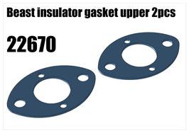 Beast insulator gasket upper 2pcs