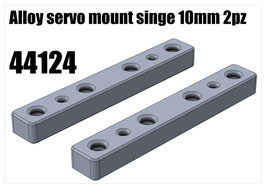 Alloy servo mount singe 10mm 2pcs