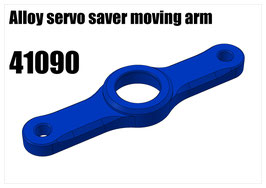 Alloy servo saver moving arm