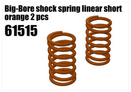 Shock's spring linear short orange 2pcs
