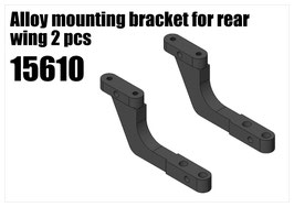 Alloy bracket for rear wing side part 2pcs