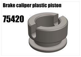 Brake caliper plastic piston