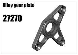 Alloy gear plate