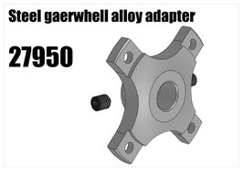 Alloy gearwhell adapter