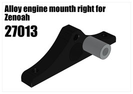 Alloy engine mounth right