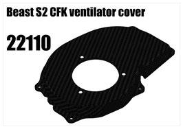 Beast S2 CFK ventilator cover
