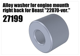 "Alloy washer for engine Beast ""22070v"