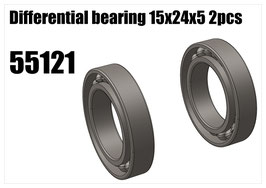 Differential bearing 15x24x5 2pcs