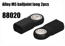 Alloy M5 balljoint long 2pcs