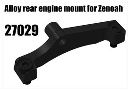 Alloy rear engine mount for Zenoah