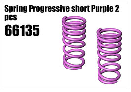 Spring Progressive short Purple 2pcs