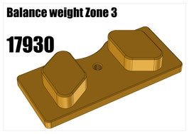 Balance weight Zone 3