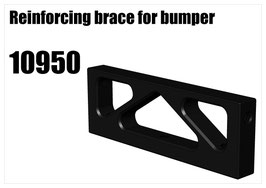 Alloy bumper bracket