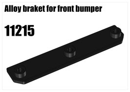Alloy braket for front bumper