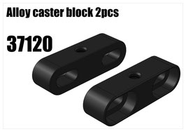 Alloy caster block 2pcs