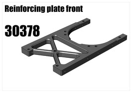 Alloy front central reinforcing bracket