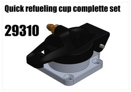 Quick refueling cup complette set