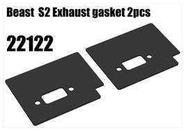 Beast  S2 Exhaust gasket 2pcs