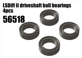 LSDiff II driveshaft ball bearings 4pcs