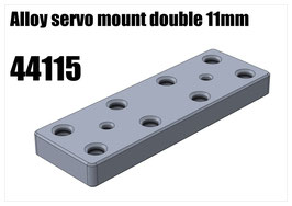 Alloy servo mount double 11mm