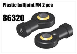 Plastic balljoint M4 2pcs