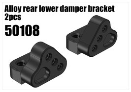 Alloy rear lower damper bracket 2pcs