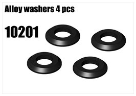Alloy washers 4pcs