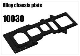 Alloy chassis plate