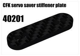 CFK servo saver stiffener plate