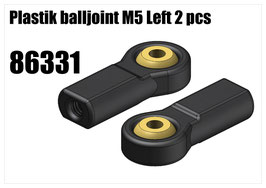 Plastik balljoint M5 left 2pcs