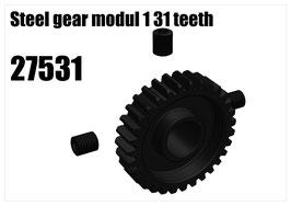 Steel gear modul 1 31 teeth