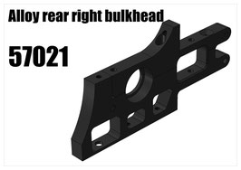 Alloy rear right bulkhead