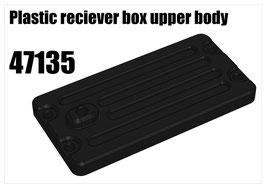 Plastic reciever box upper body